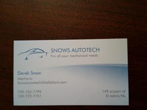 Snows autotech