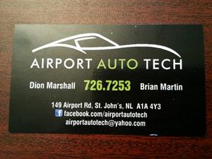 Airport auto tech
